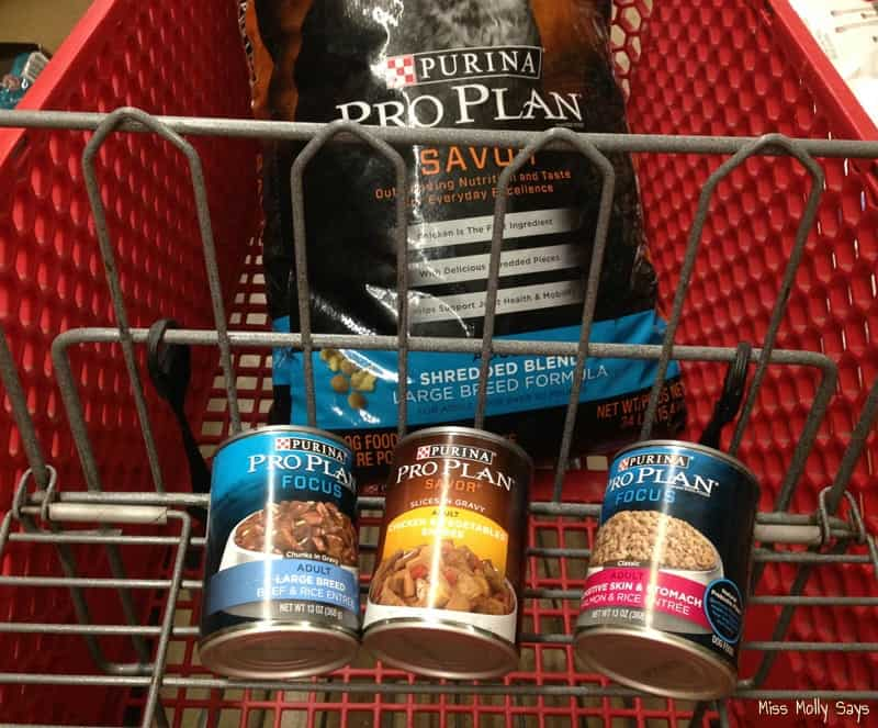Purina Pro Plan Savor Kibble and Purina Pro Plan Canned Dog Food now avilable at Tractor Supply
