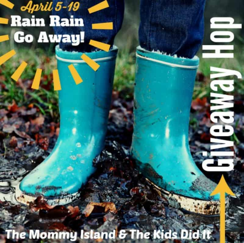 Rain Rain Go Away Hop button