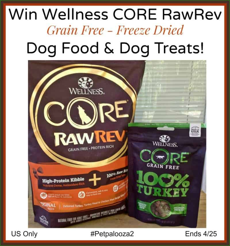 Wellness Core RawRev Giveaway
