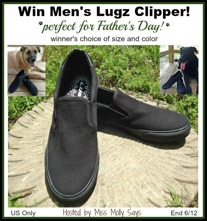 Win Men's Lugz Clipper Sneakers in choice of size and color! #dadsdayhop