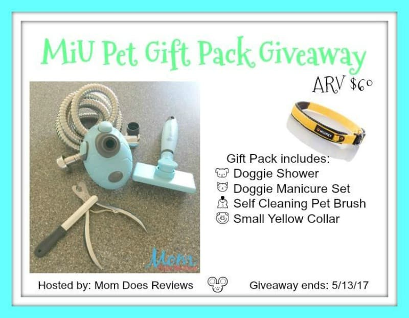 Win a PAWSOME MiU Pet Prize Pack! US Only Ends 5/13