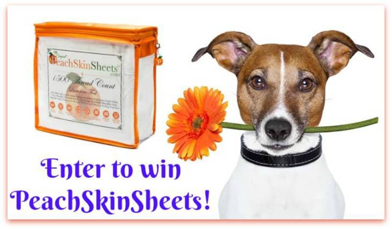 Win PeachSkinSheets in your choice of size & color! US Only Ends 11/8