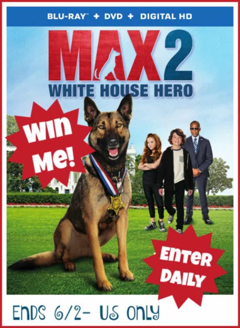 Win Max 2: White House Hero on Blu-ray!