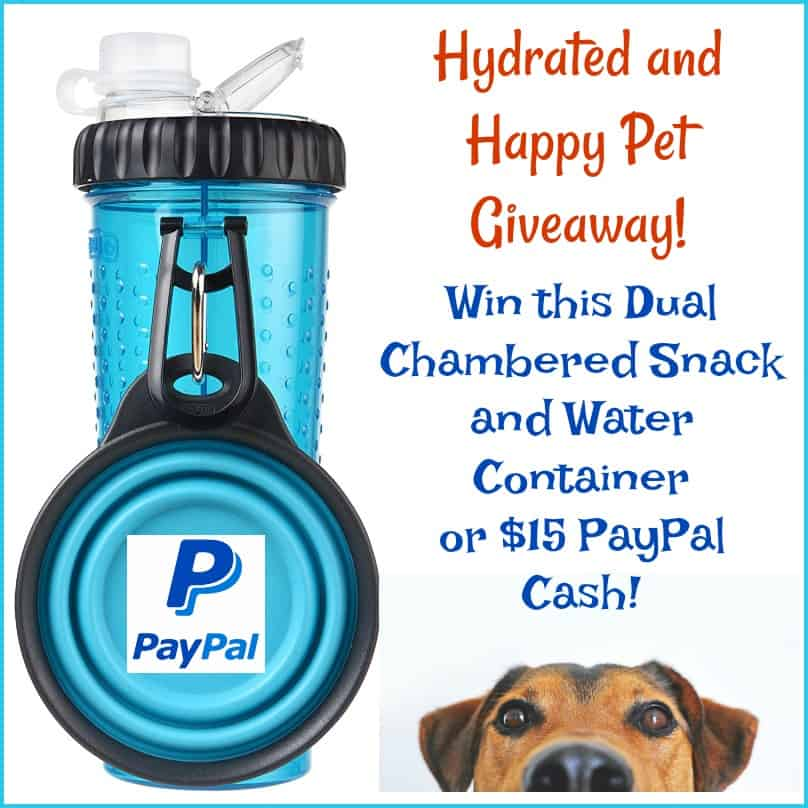 Hydrated and Happy Pet Giveaway button
