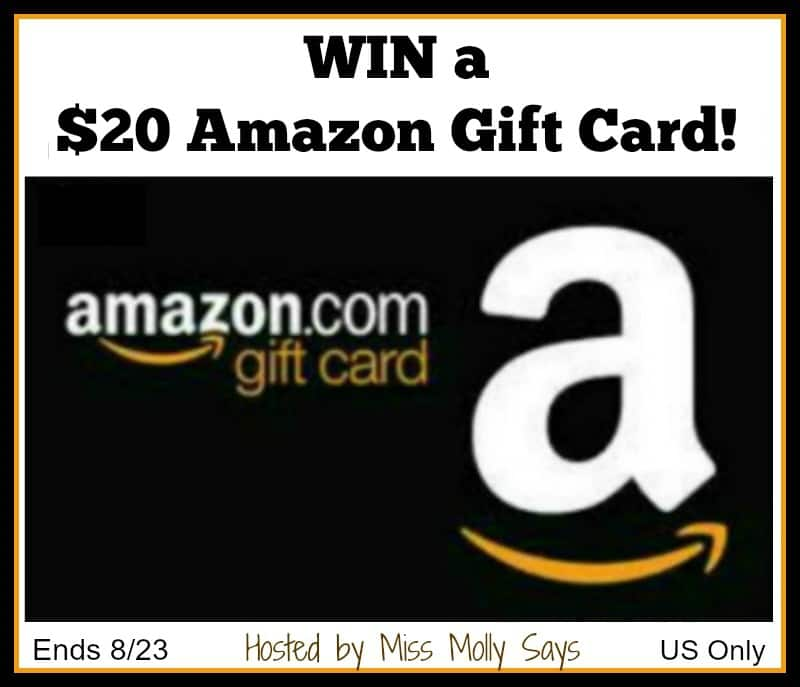Win a $20 Amazon Gift Card and Treat Your Pets! US Only Ends 8/23