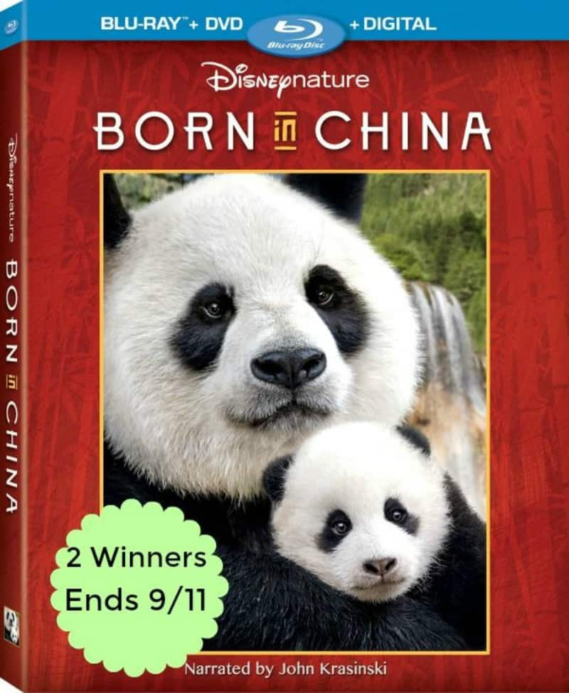 Win Born In China Blu-Ray Collection – 2 WINNERS! US Only Ends 9/11