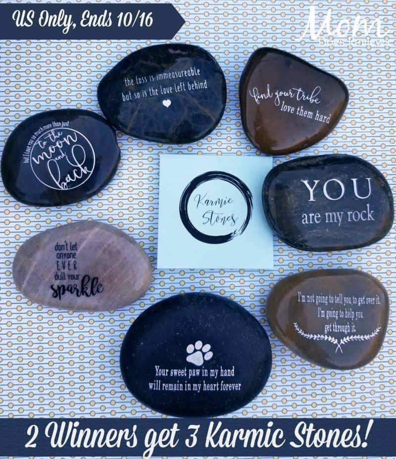 Karmic Stones giveaway button