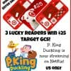 P. King Duckling giveaway button