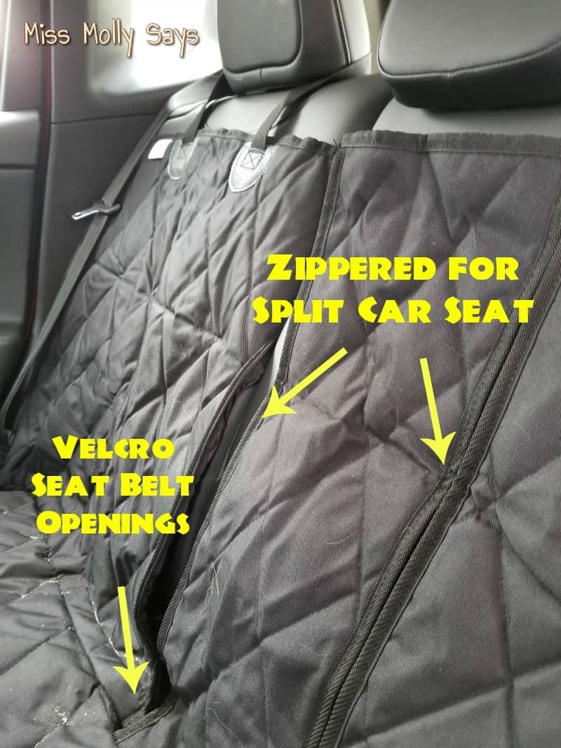 4Knines Split Car Seat Cover