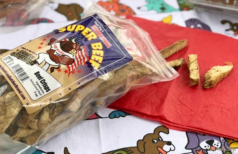 American Butcher Brand Beef Crisps Dog treats