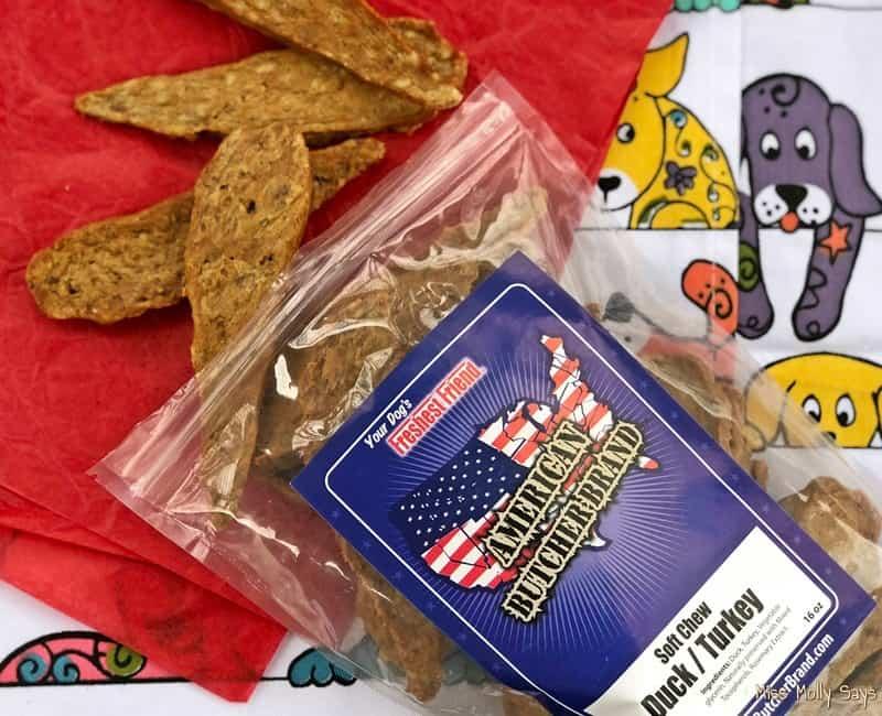 American Butcher Brand - Soft Chew Duck-Turkey Dog Treats