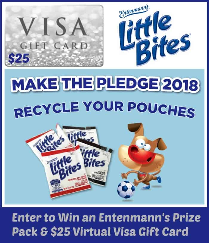 Win a $25 Virtual Visa Gift Card & 3 Entenmann's Freebie Coupons! US Only Ends 3/15
