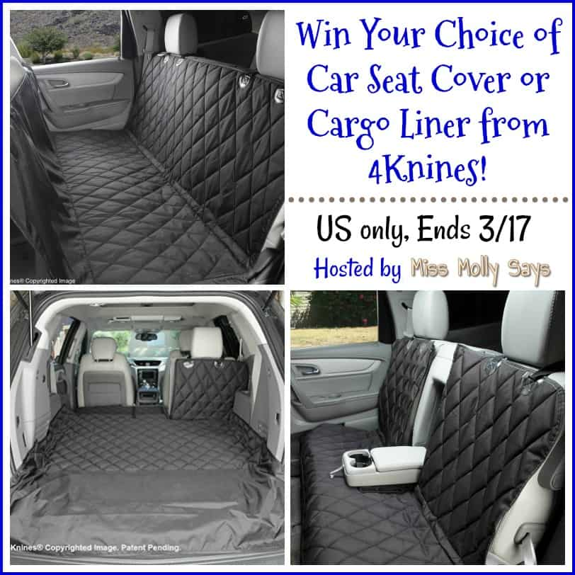 Win 4Knines Car Seat Cover or cargo cover