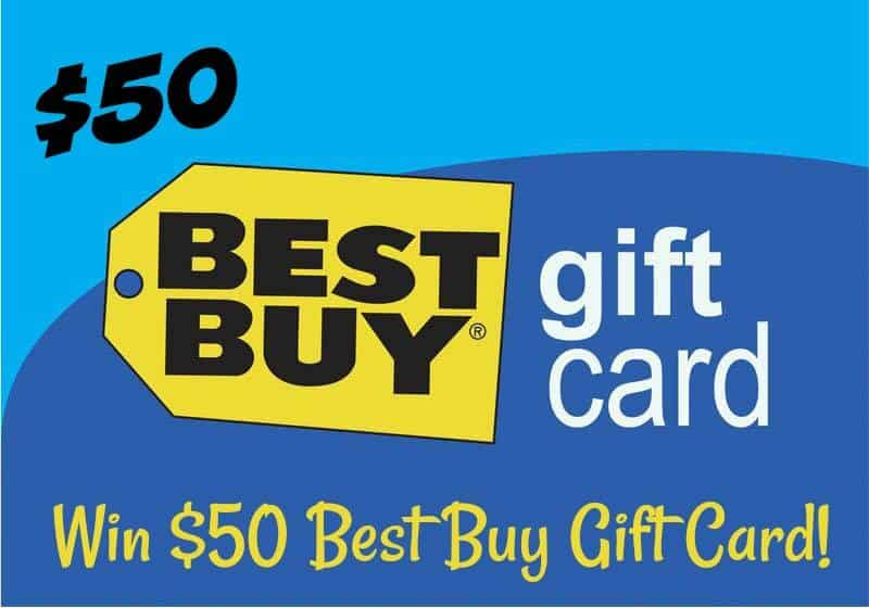 Best Buy gift card giveaway button