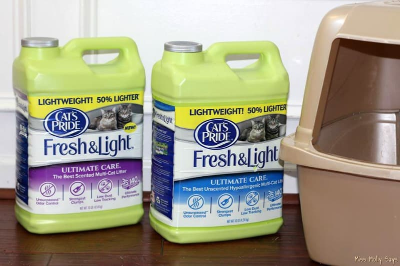 Litter for Good - Cat's Pride® Fresh & Light Ultimate Care®