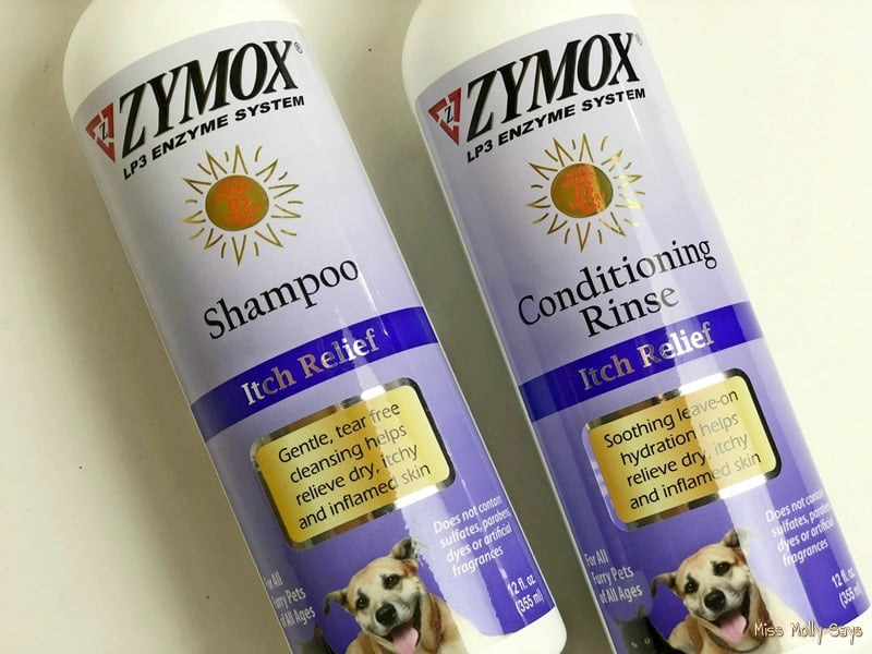 Zymox Shampoo Itch Relief and Conditioner