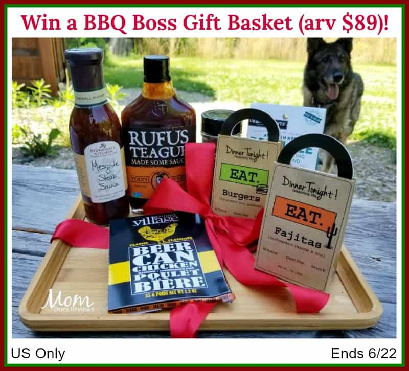 Barbecue Boss BBQ Gift Basket Giveaway