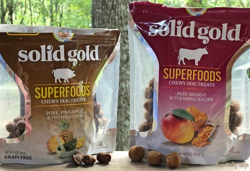 Solid Gold Superfoods Chewy Dog Treats
