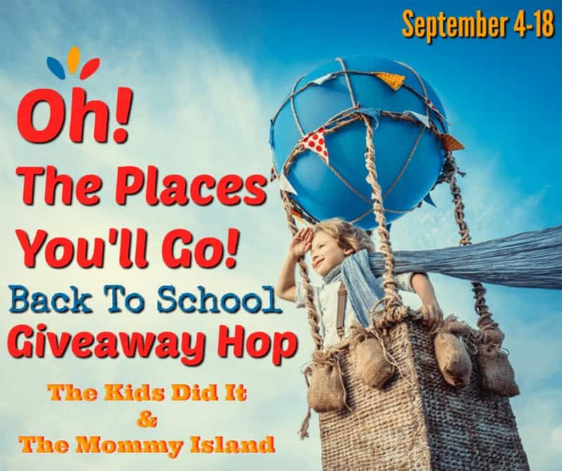 Oh, The Places You'll Go Giveaway Hop