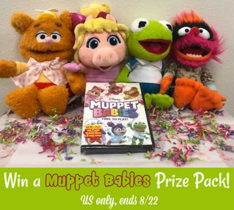 Win a PAWSOME Muppet Babies Prize Pack! US Only Ends 8/22!