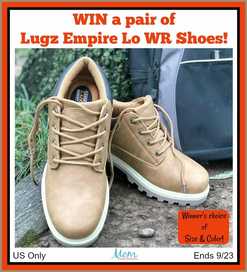 Win a pair of Lugz Empire Lo WR! #Back2School18 US Only Ends 9/23