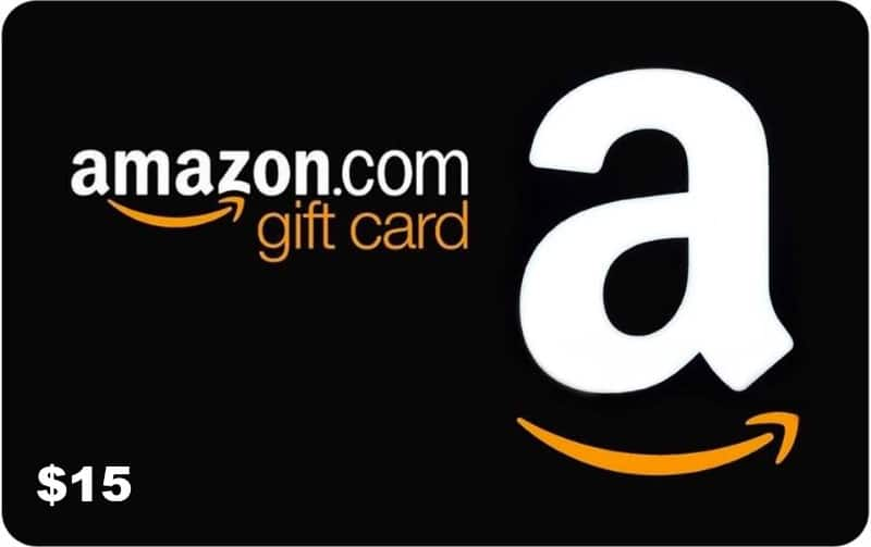 #Win a $15 Amazon Gift Card! US Only Ends 11/15