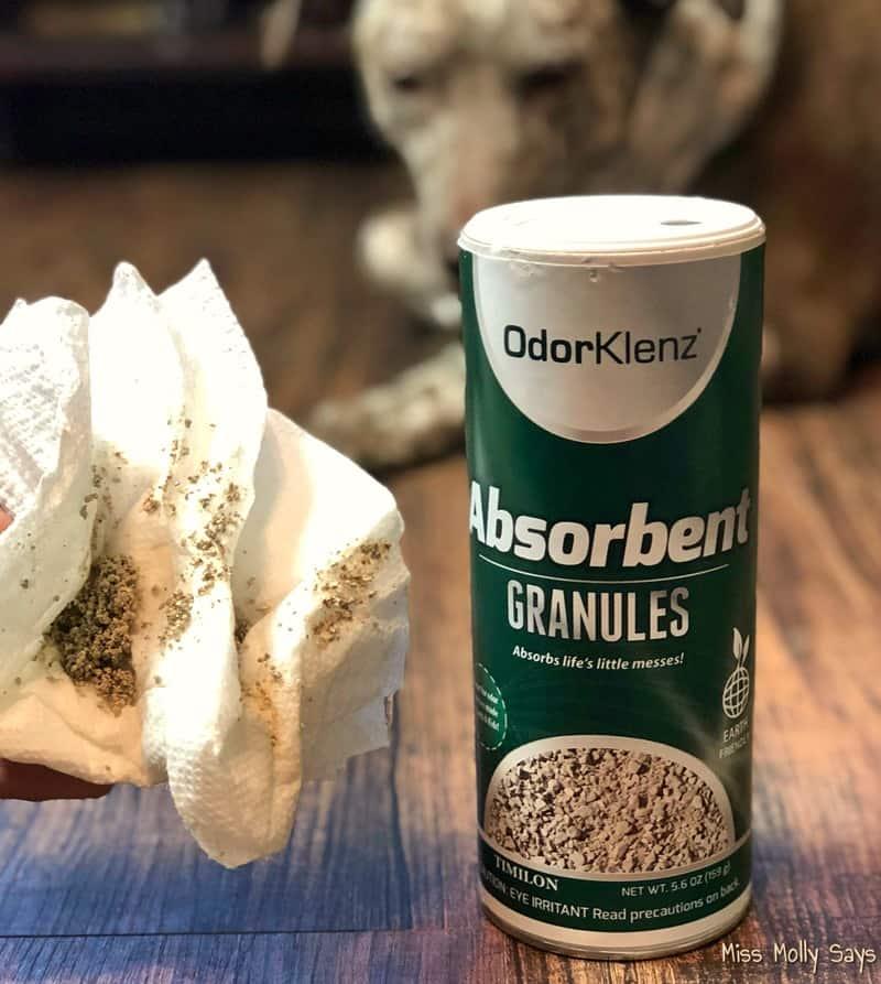 OdorKlenz Absorbent Granules