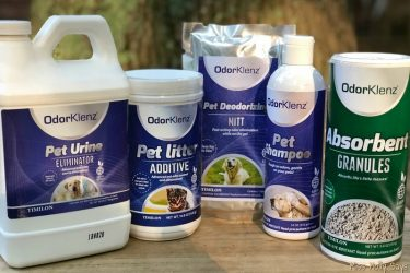 OdorKlenz Keeps Your Home AND Pets Odor Free