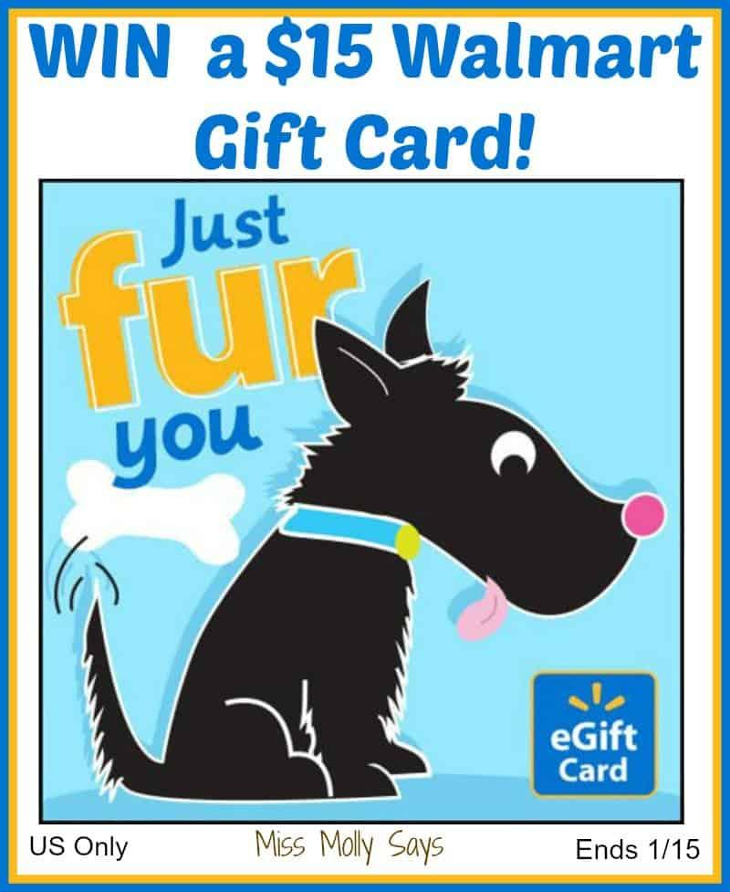 $15 Walmart Gift Card Giveaway