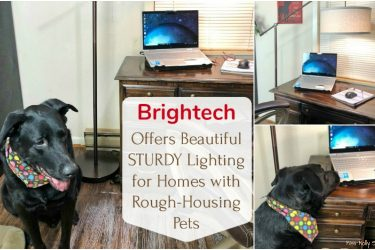 Brightech Offers Beautiful Sturdy Lighting for Homes with Rough-Housing Pets