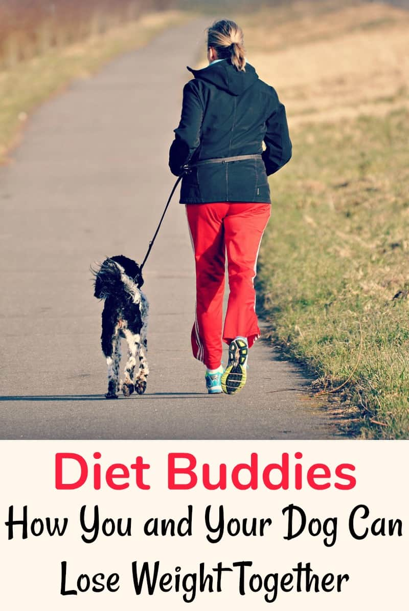Diet Buddies, How You and Your Dog Can Lose Weight Together