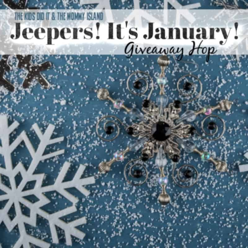 Jeepers! It's January Giveaway Hop