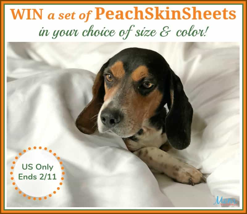 Win PeachSkinSheets in your choice of size and color! #Sweet2019
