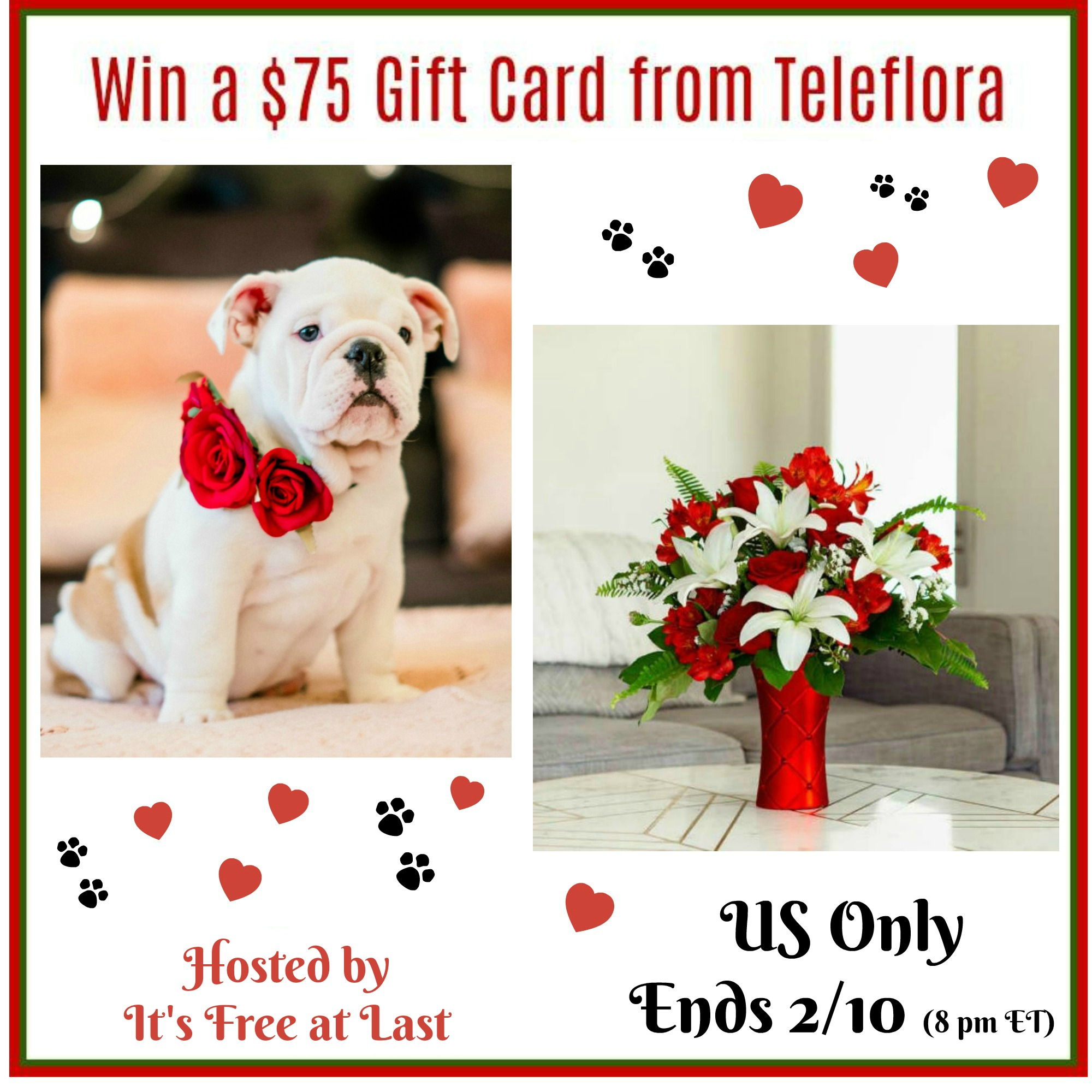 $75 Teleflora Giveaway