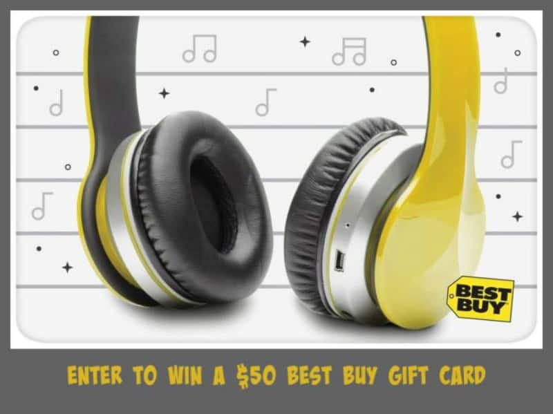 $50 Best Buy Gift Card Giveaway!