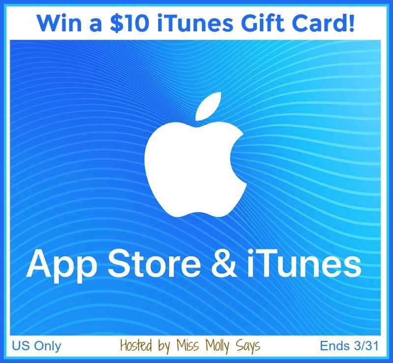 """#Win a $10 iTunes Gift Card in our """"Tweet About It"""" Giveaway Hop!"""