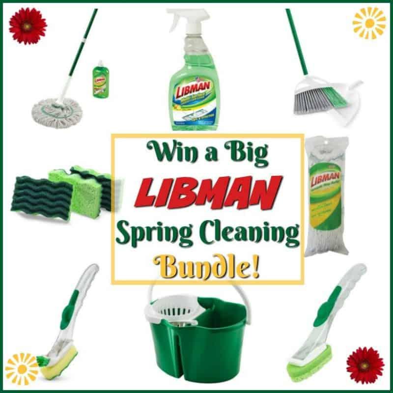 #Win a HUGE Libman Spring Cleaning bundle (arv $120+)!