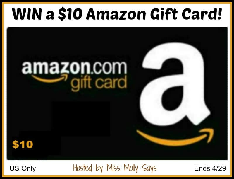 Enter for a chance to #win a $10 Amazon Gift Card in our April Showers Giveaway Hop!