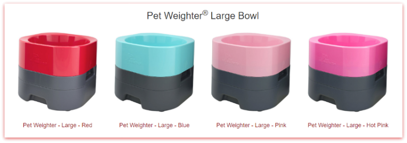 PetWeighter Bowls