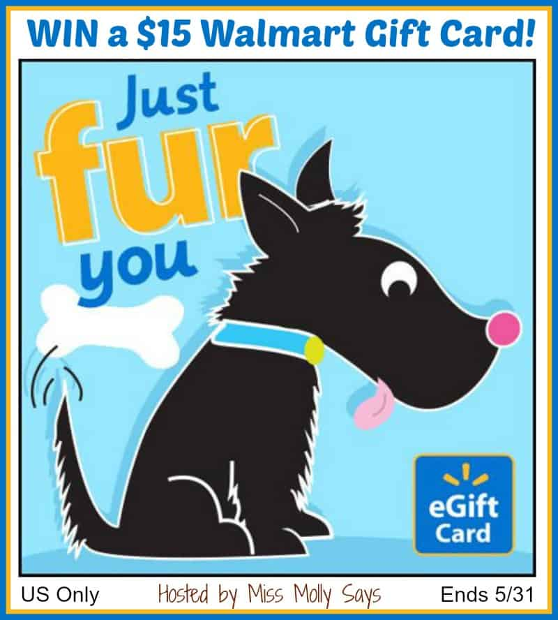 Enter for a chance to #win a $15 Walmart Gift Card!