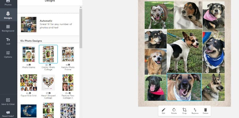 Steps for Creating Your Custom Sherpa Photo Blanket at Collage.com