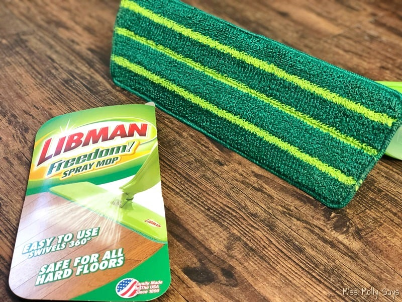 Keeping Up With Pet Messes is Easy with the Libman Freedom® Spray Mop #EmbraceLifesMesses #TheLibmanCompany