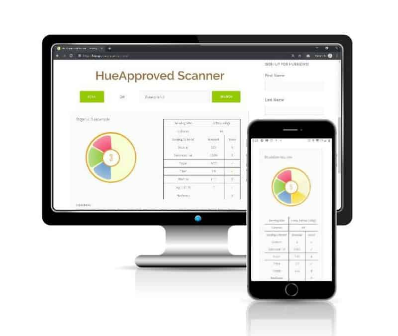 HueApproved Scanner
