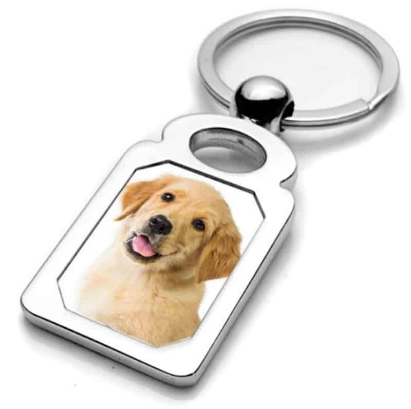 Enter for a chance to #win both the Pictures on Gold Stainless Steel Photo Dog Tag Photo Pendant and Stainless Steel Engravable Photo Laser Keychain!