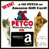 Pets need Halloween treats too! Enter for a chance to #win a $10 PETCO or Amazon Gift Card!