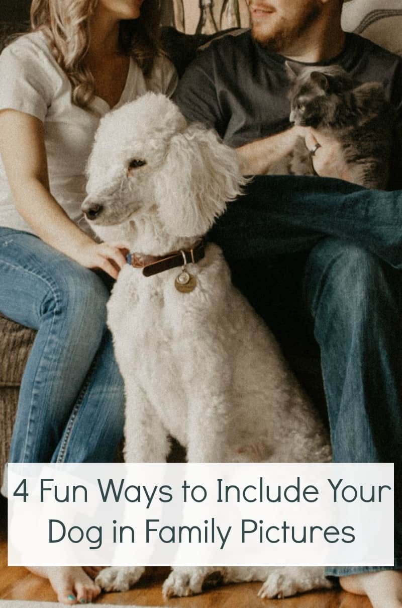 4 Fun Ways to Include Your Dog in Family Pictures