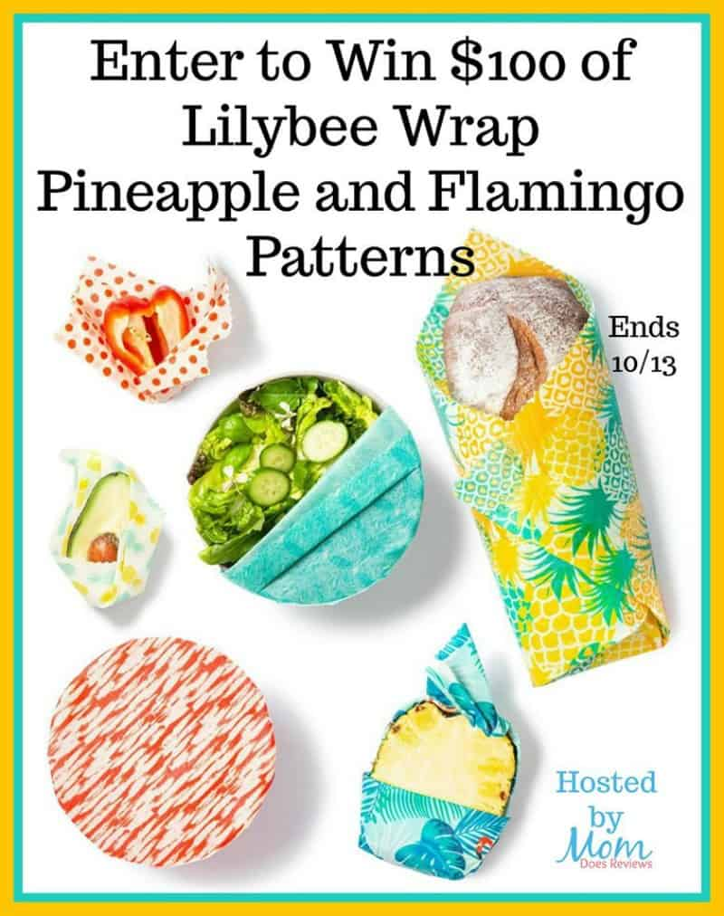 Enter for a chance to #win $100 worth of Lilybee Reusable Wrap in FUN Pineapple and Flamingo Patterns!!