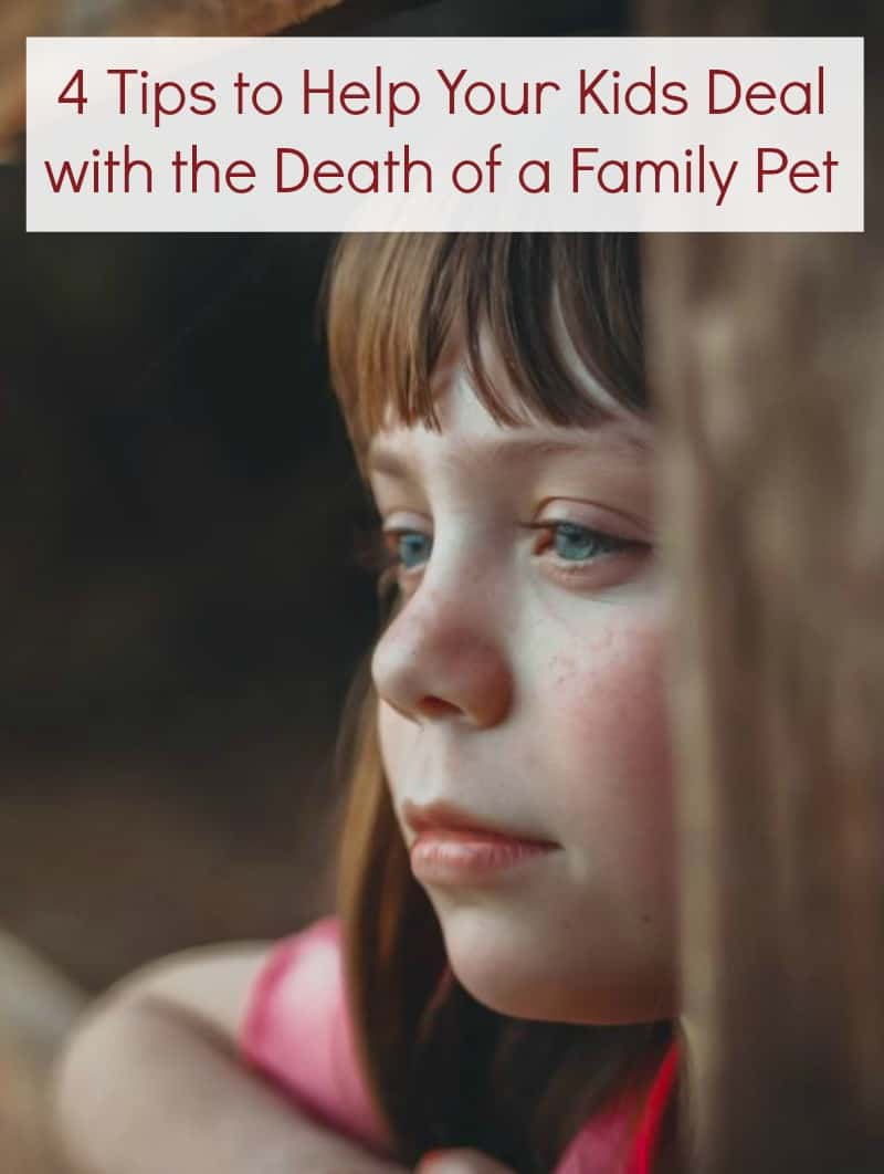 4 Tips to Help Your Kids Deal with the Death of a Family Pet
