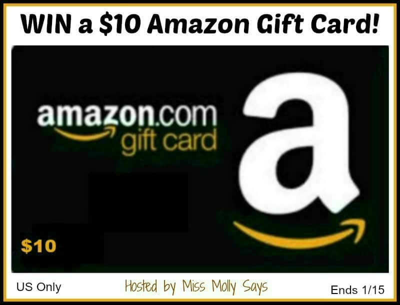 Enter for a chance to #win a $10 Amazon Gift Card in our 3...2...1...Giveaway Hop!