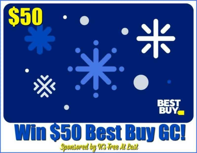 Enter for a chance to win a $50 Best Buy Gift Card!